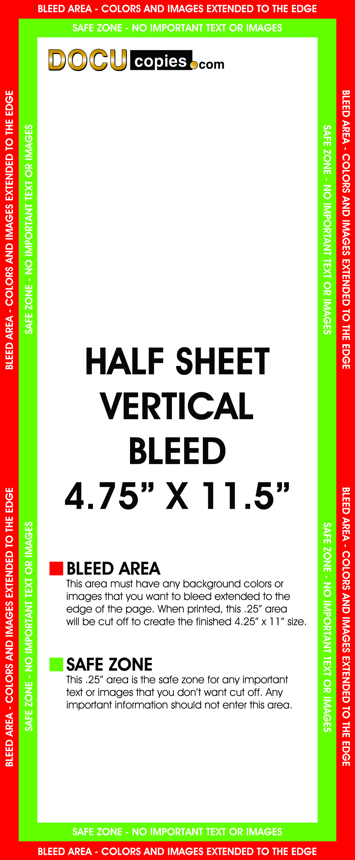 Learn about printing your next project with bleeds half vertical 425x11 jpg spiritdancerdesigns Gallery